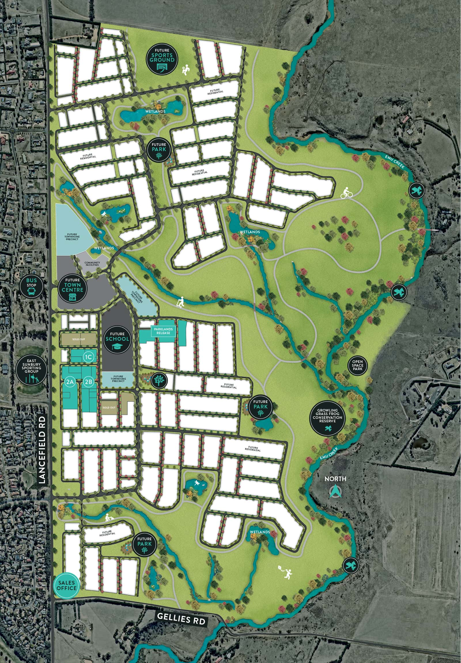 LRD21491 - KINGSFIELD - Masterplan Image - WITHOUT icons