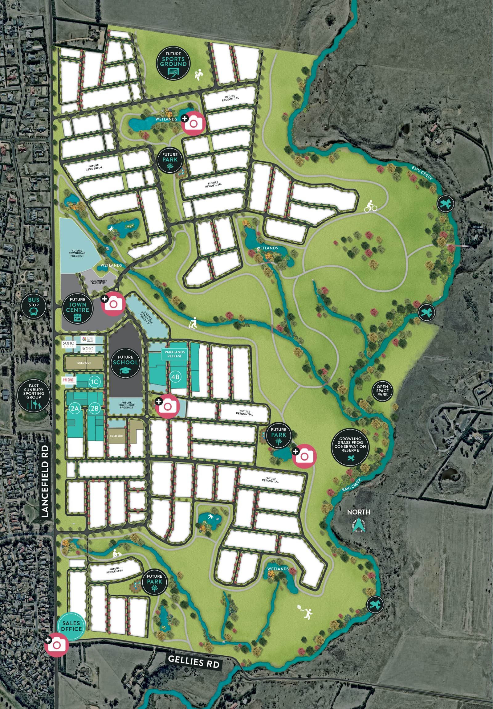 KINGSFIELD - Masterplan Image