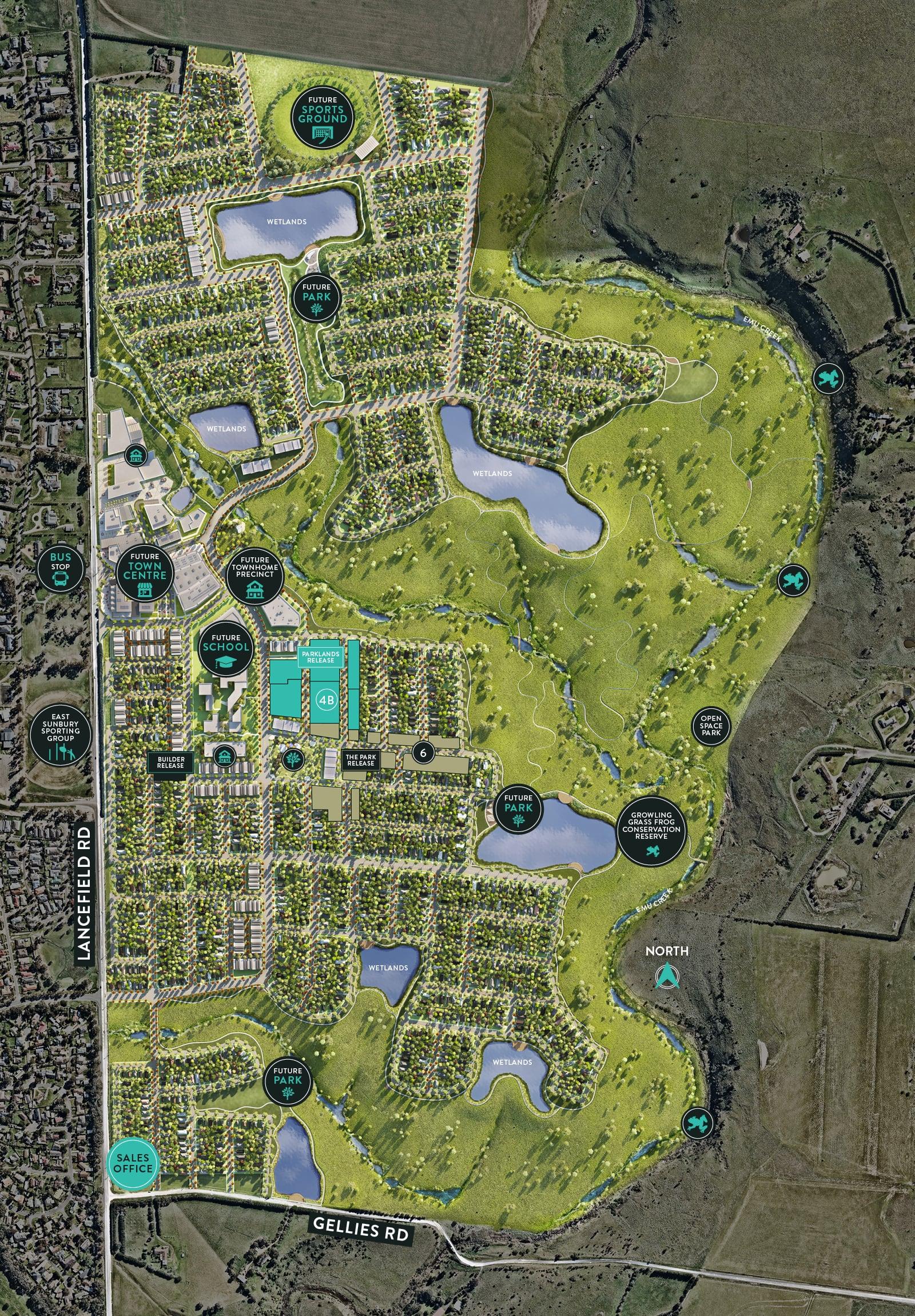 LRD23564 - KINGSFIELD - Masterplan Image
